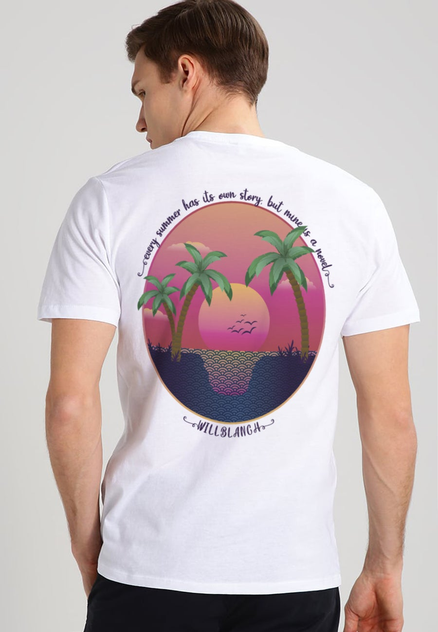 "Image of ""THE BEACH"" UNISEX TEE"