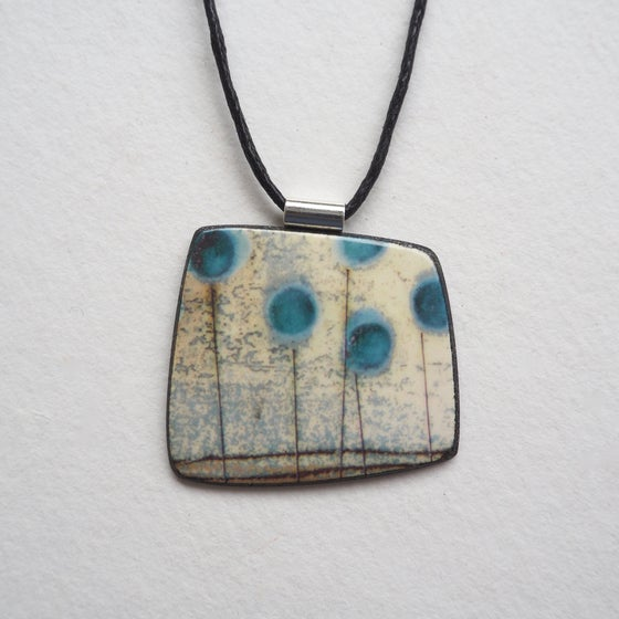 Image of Elements Range - Seed Head Pendant (Squared)