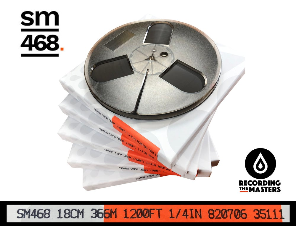 "Image of 5 Pack SM468 1/4"" X1200' 7"" Plastic Reel Hinged Box"