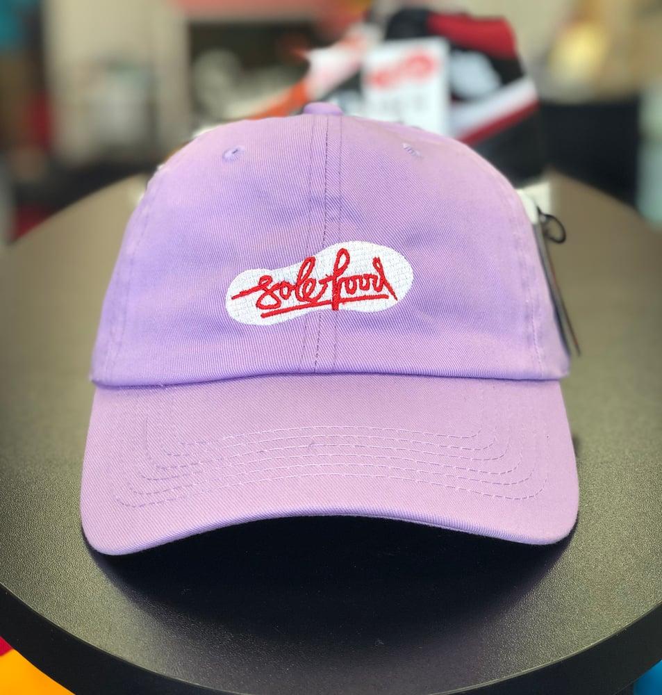 Image of Sole Food Kicks Dad Hat - Lavender