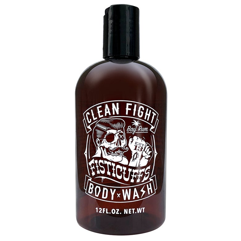 Image of Fisticuffs Bay Rum Body Wash 12 oz. Bottle