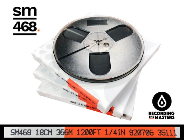 "Image of 3 Pack SM468 1/4"" X1200' 7"" Plastic Reel Hinged Box"