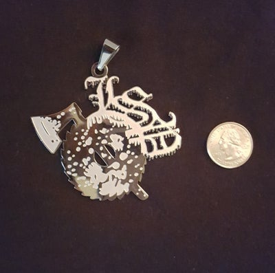 Image of LSP : LARGE FROSTED LSP Charm