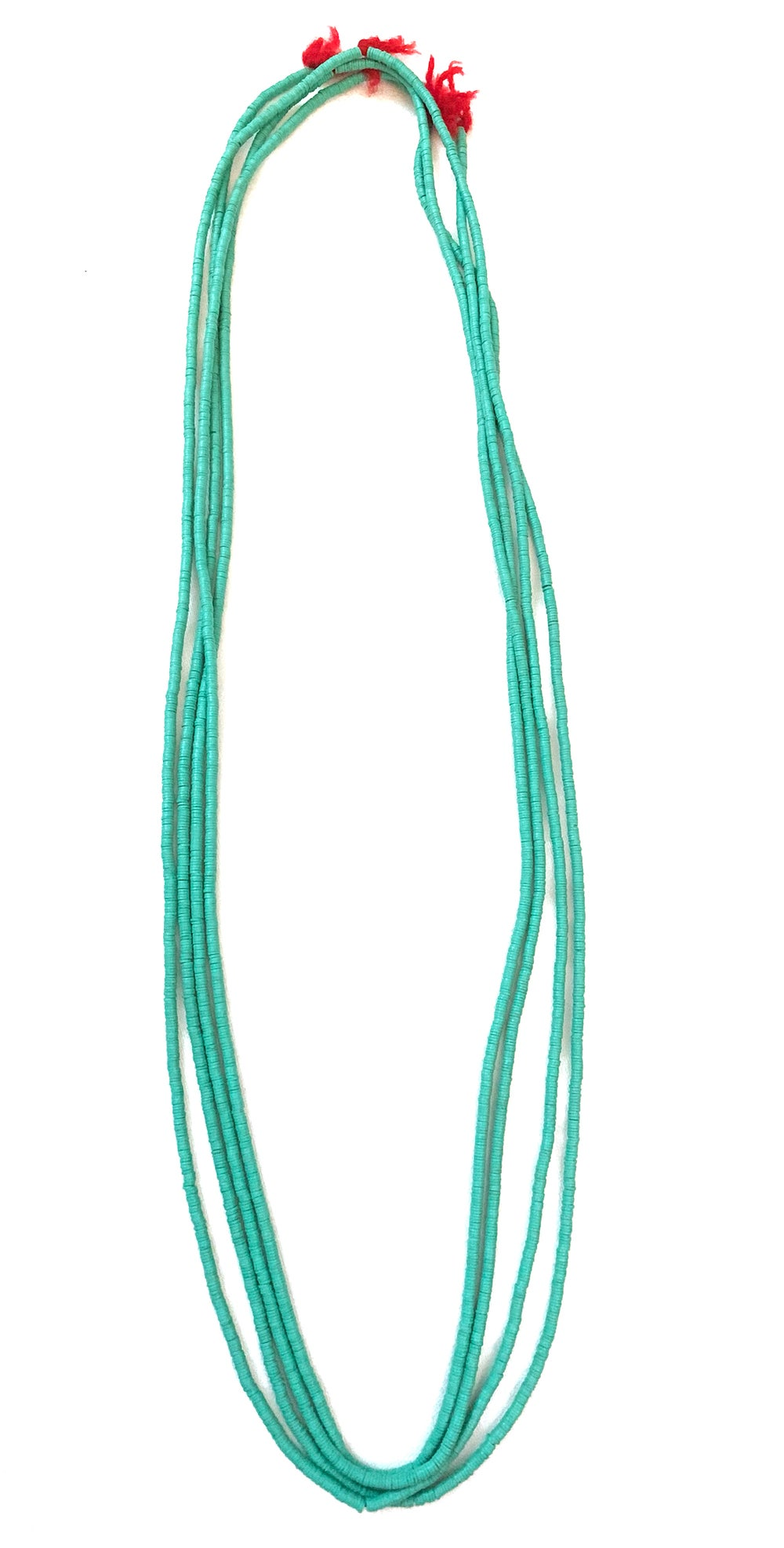 Image of Turquoise Trade beads necklace