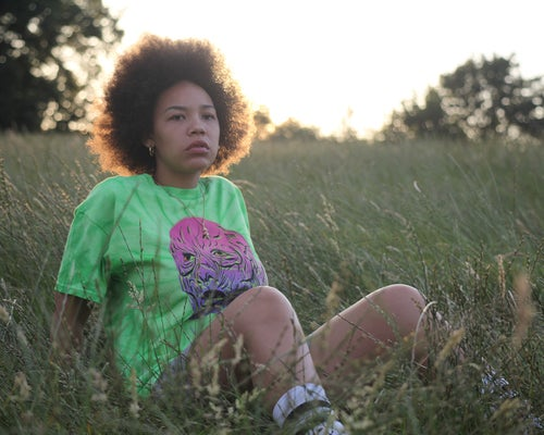 Image of GREEN ACID TRIP TEE