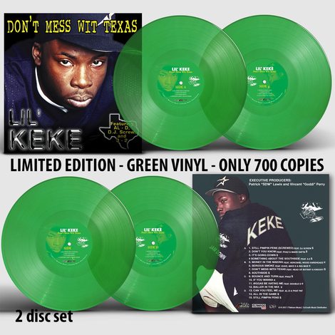 Image of LIL KEKE- DONT MESS WITH TEXAS  VINYL