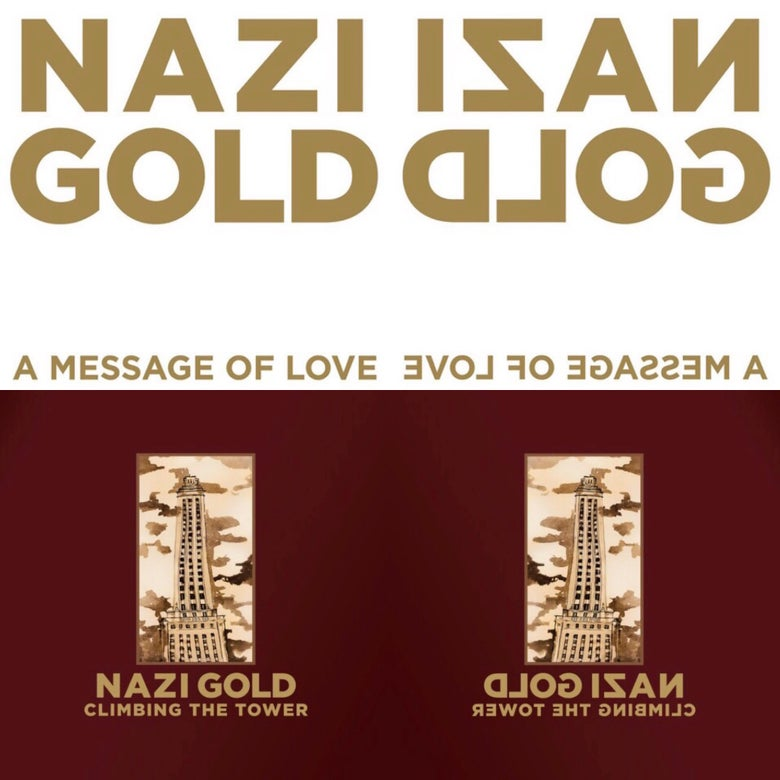 Image of Nazi Gold 2 Vinyl Album Bundle
