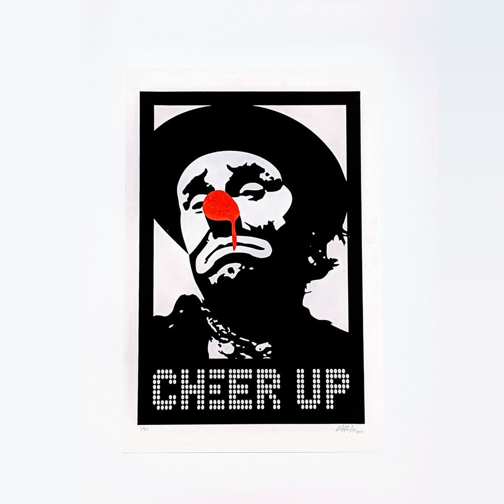Image of CHEER UP - Screenprint