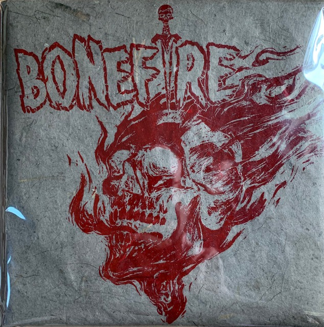 "Image of ULTRA RARE VERSION - BONEFIRE ""FADE AND DECAY"" 12"" VINYL LP*"