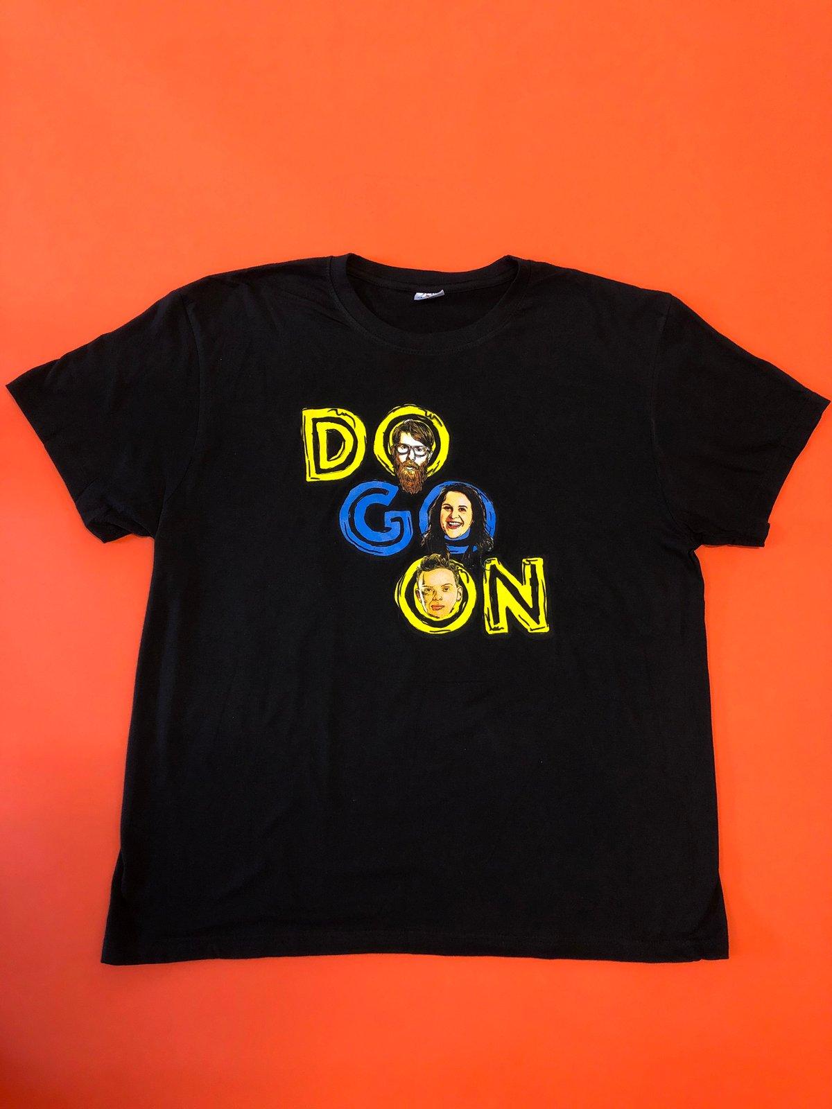 Image of Do Go On Logo - Black