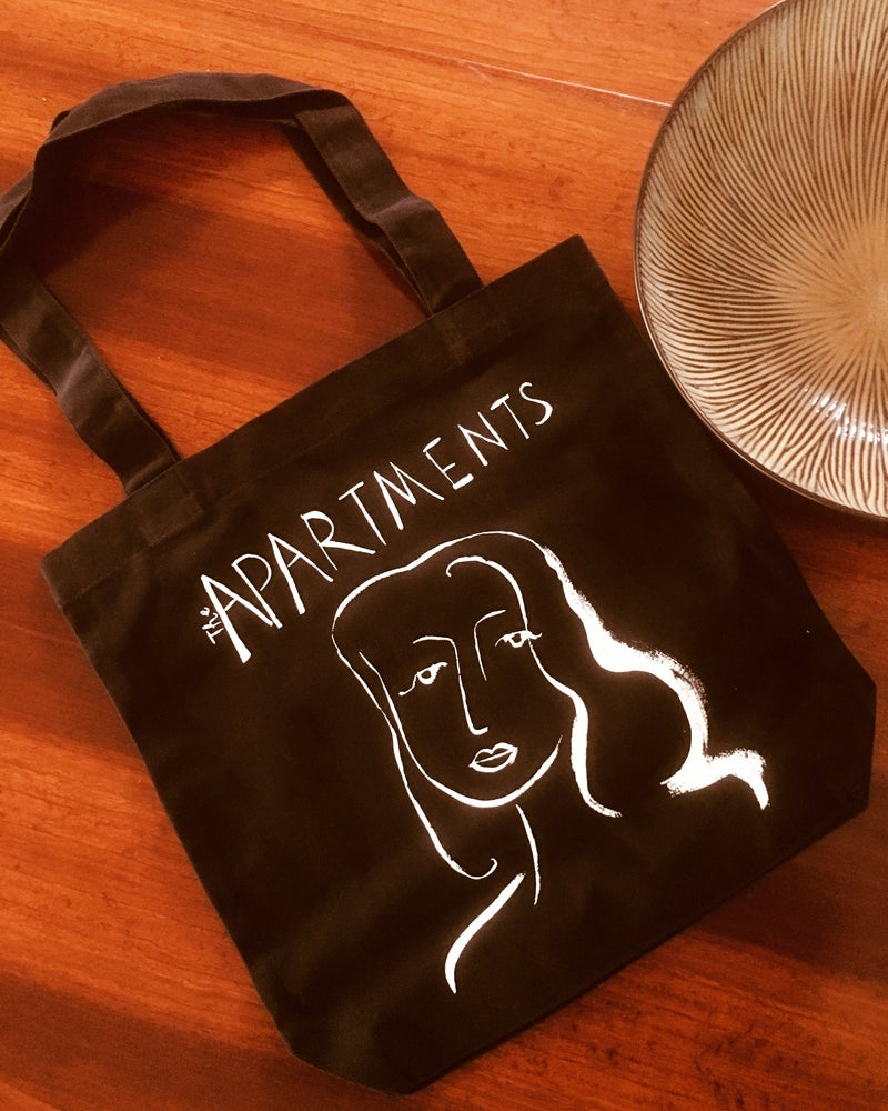 Image of AUSTRALIA NEW ZEALAND ONLY Tote Bags Black or White