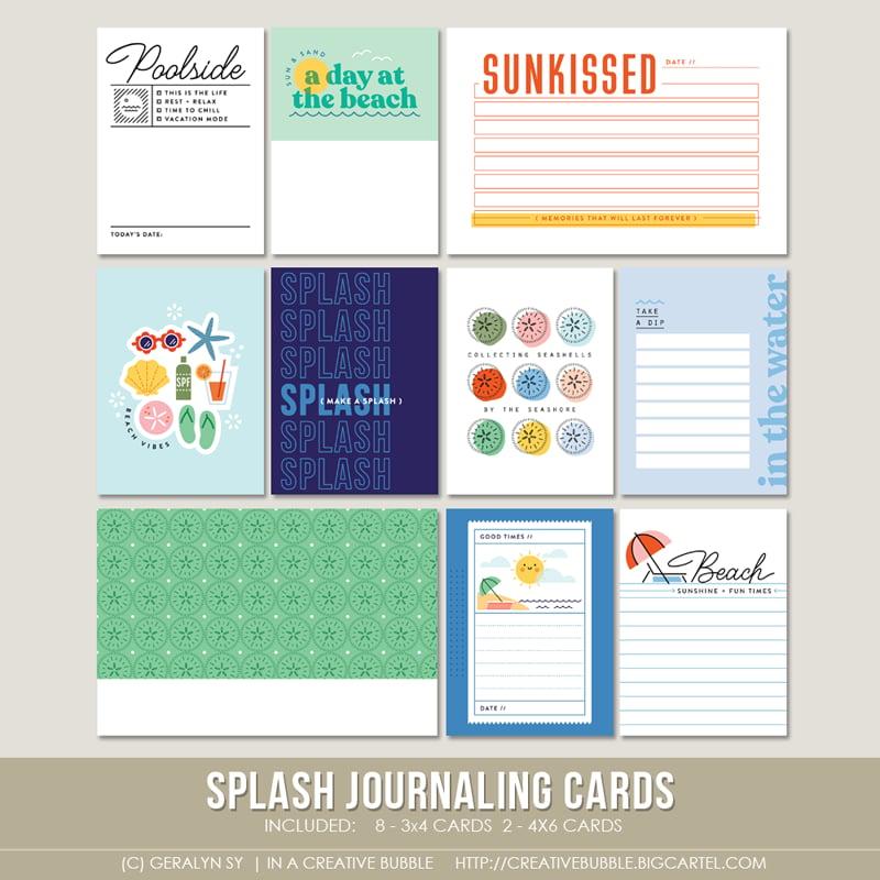 Image of Splash Journaling Cards (Digital)