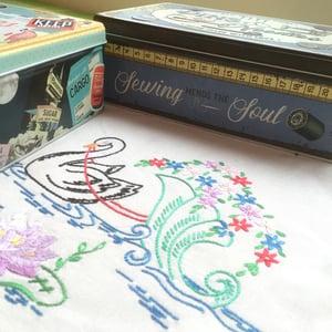 Image of Pins & Needles Sewing and Treasures Tins