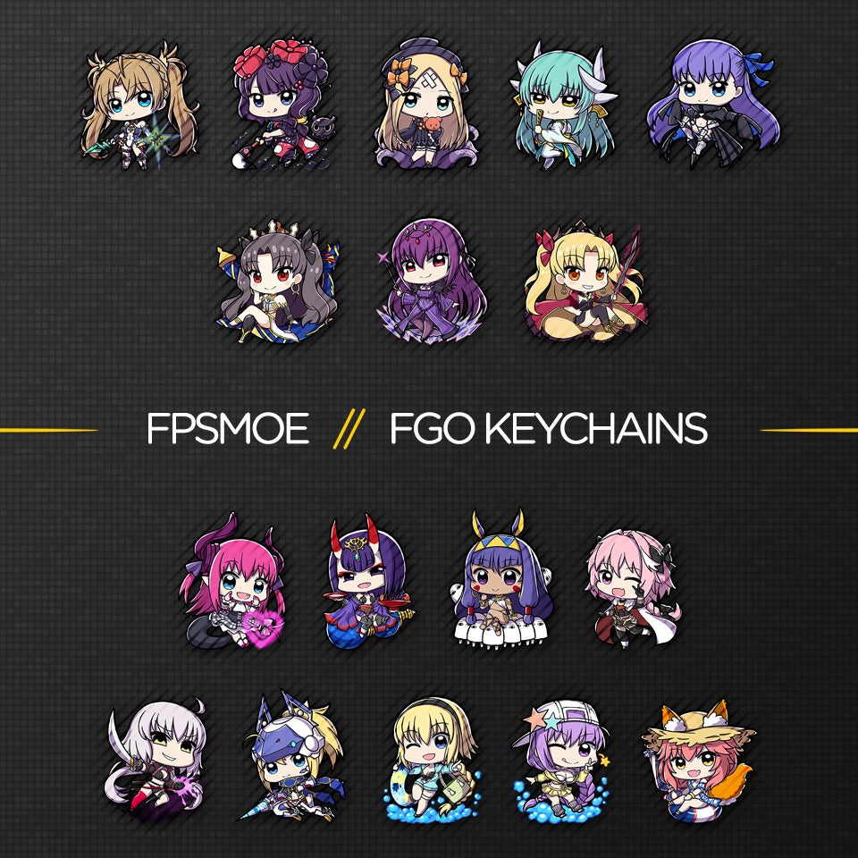 Image of Fate Grand Order Keychain