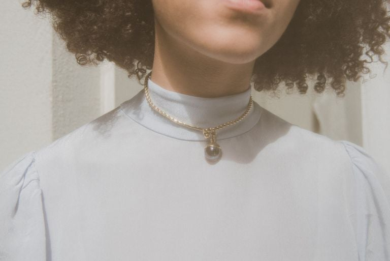 Image of Glass Choker Necklace