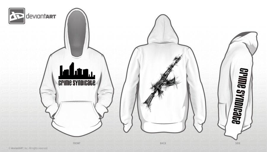 SOILS OF FATE Crime Syndicate Hoodie (only SIZES M / L)