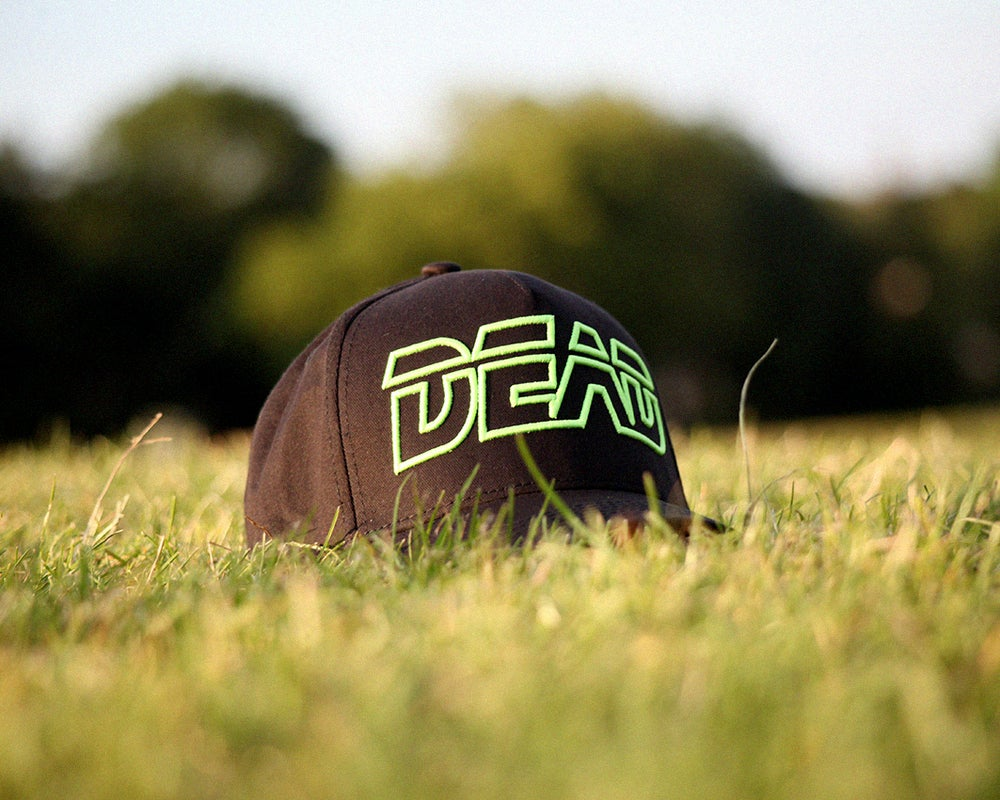 Image of DEAD CAP - GLOW IN THE DARK