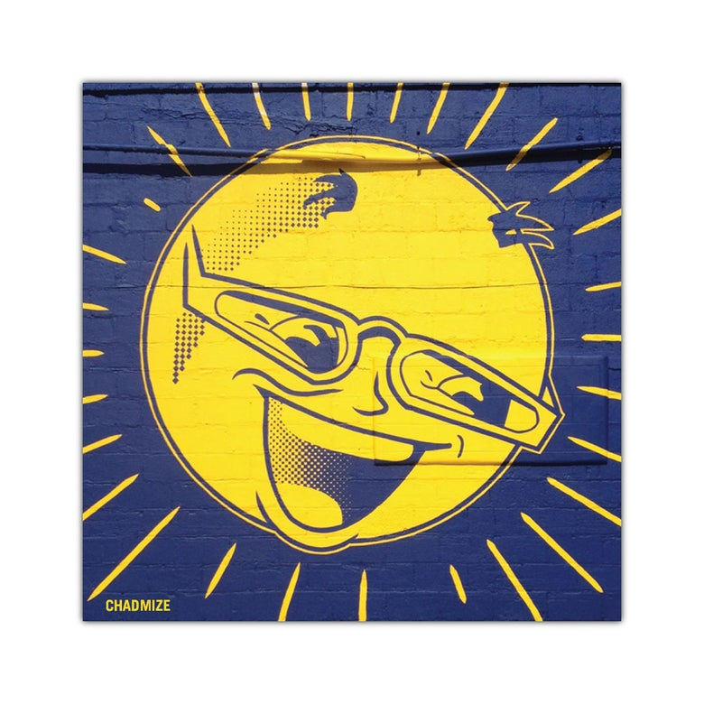 Image of MR SUN STICKER