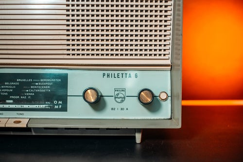 Image of PHILIPS PHILETTA 6 G (1961) RADIO VINTAGE BLUETOOTH