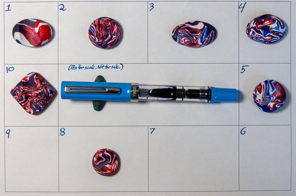 Image of July 4th Pen Rests!