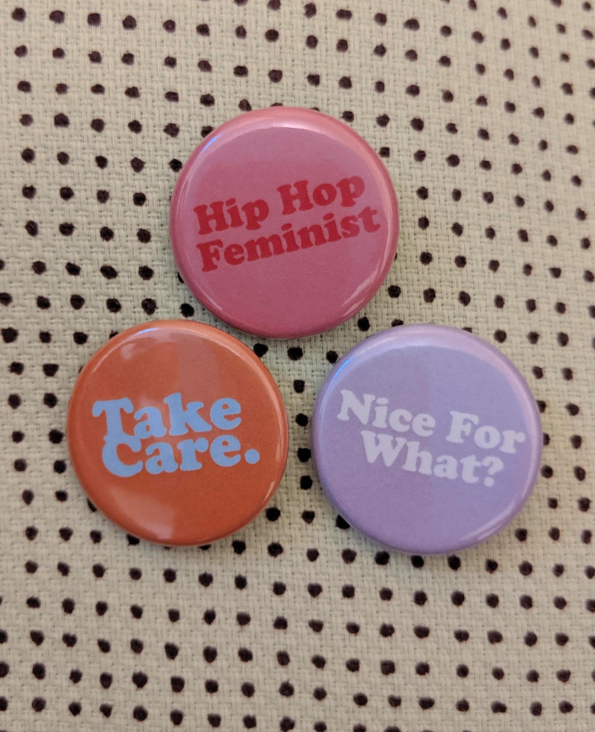 Image of Hip-Hop Feminist Badge Collection