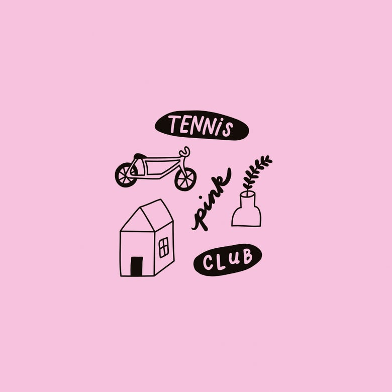 "Image of TENNIS CLUB - Pink (Limited Edition Pink 10"" Mini-LP w/MP3s)"