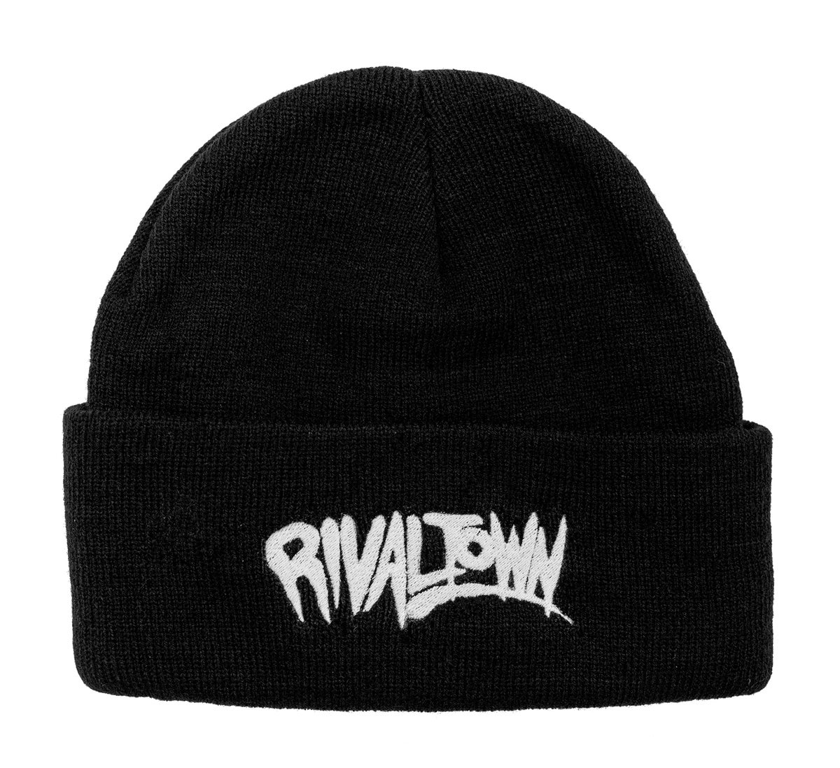 Image of Embroidered Toque (Black)