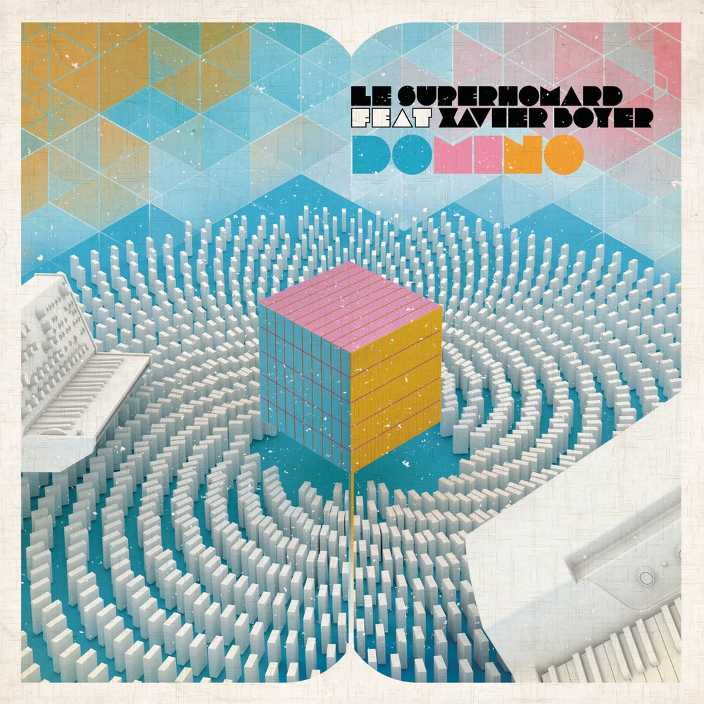 """Image of LE SUPERHOMARD - Domino (Limited edition 7"""" white vinyl w/MP3s)"""
