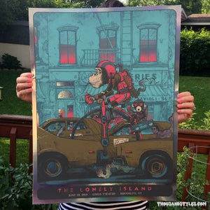 Image of The Lonely Island Poster - FOIL VARIANT - Brooklyn NYC