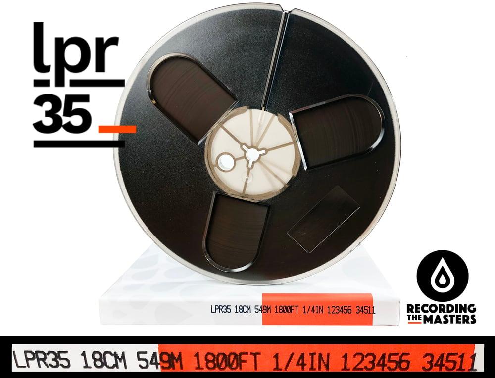 "Image of LPR35 1/4"" X1800' 7"" Plastic Reel Hinged Box"