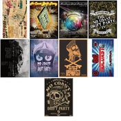 Image of All 9 NCDP event poster pack (10 available)
