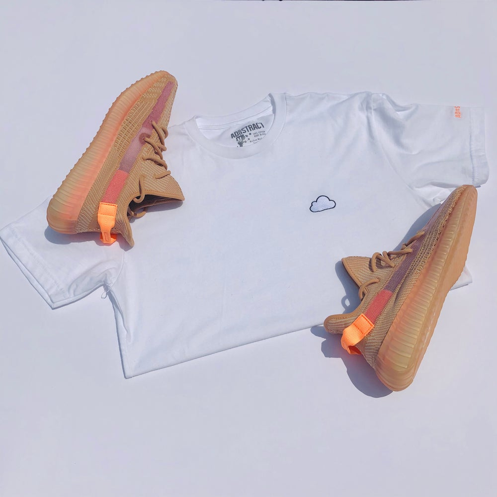 """CLOUD EMBROIDERY """"CLAY"""" T-SHIRT"""