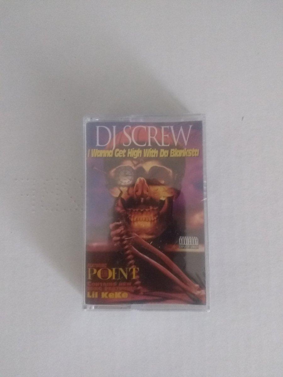 Image of Dj screw high with Blanksta maxi cass