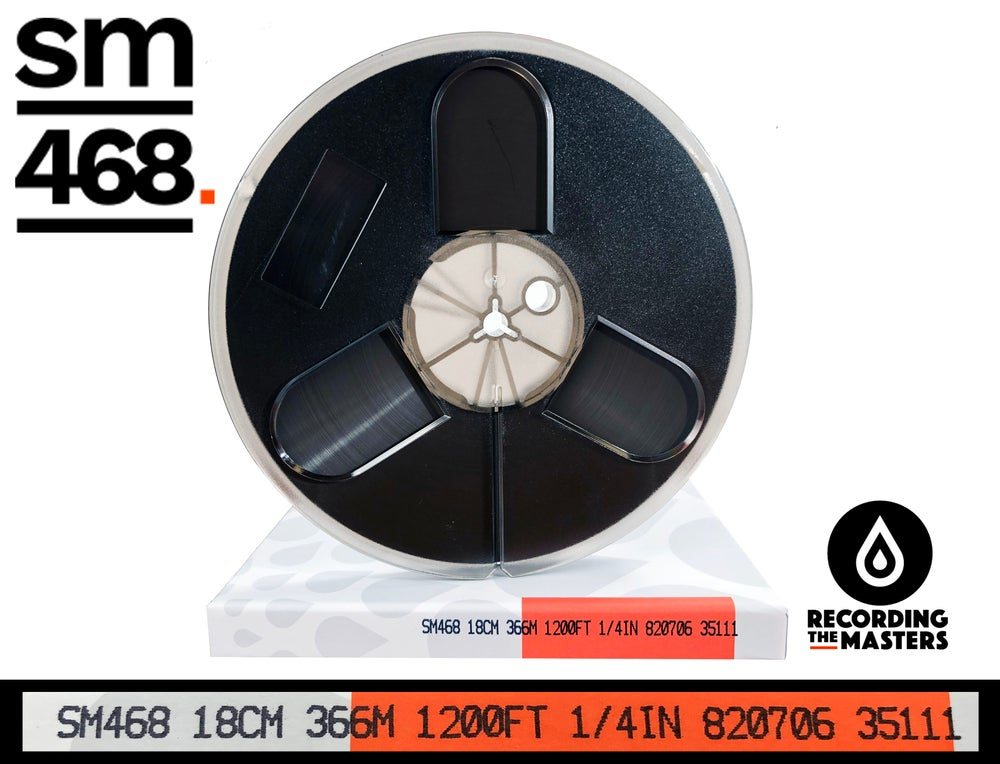 "Image of SM468 1/4"" X1200' 7"" Plastic Reel Hinged Box"