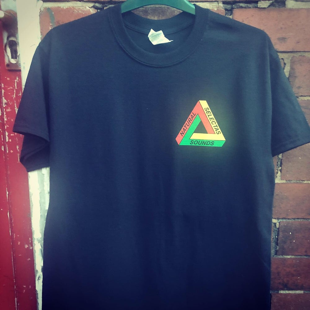 Image of Natural Selectas 'Rasta Triangle' T-Shirt
