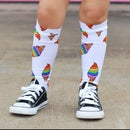 Image of Rainbow Cone Knee-Highs