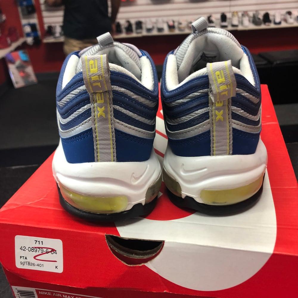 Image of Nike Air Max 97 - Royal Neon - Size 9