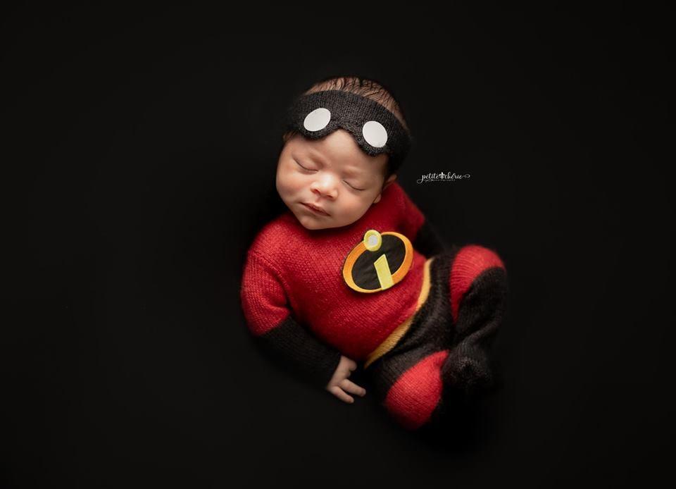 Image of Incredibles Inspired Jammy/Headband Set