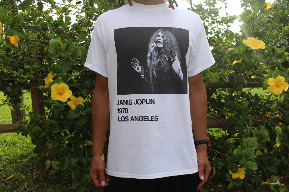 Image of Janis Joplin 1970 Tour Shirt