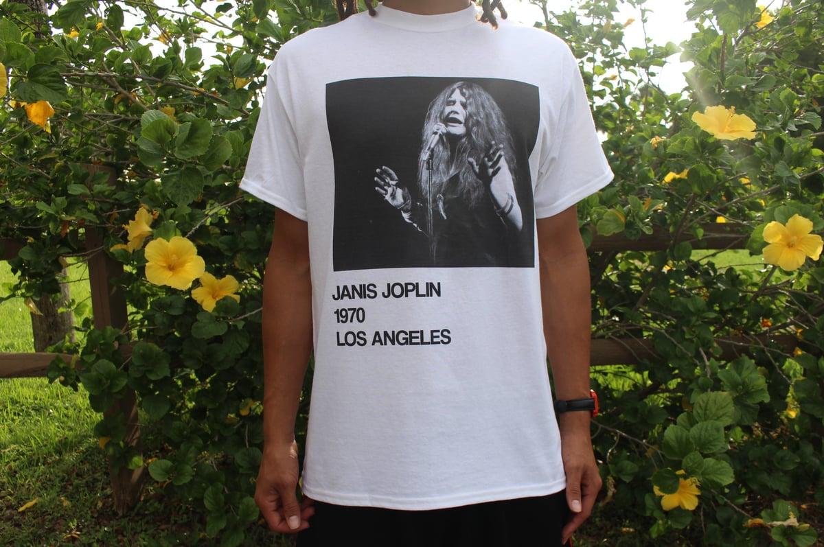 Image of Janis Joplin 1970 Tour Shirt