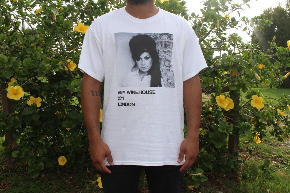 Image of Amy Winehouse 2011 Tour Shirt