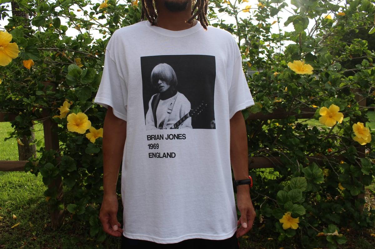 Image of Brian Jones 1969 Tour Shirt