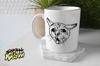 Ugly Coughing Cat Meme Mug