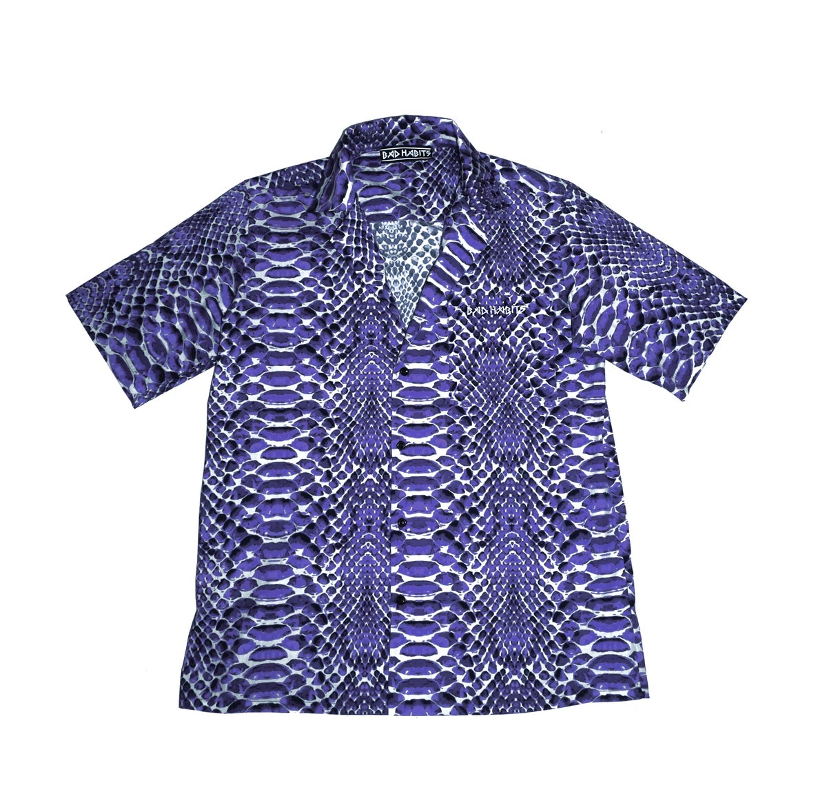 Image of Snakeskin Shirt - Purple