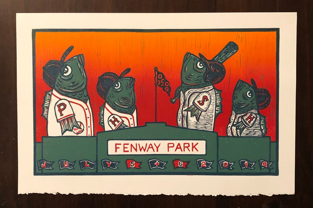 Image of Fenway prints
