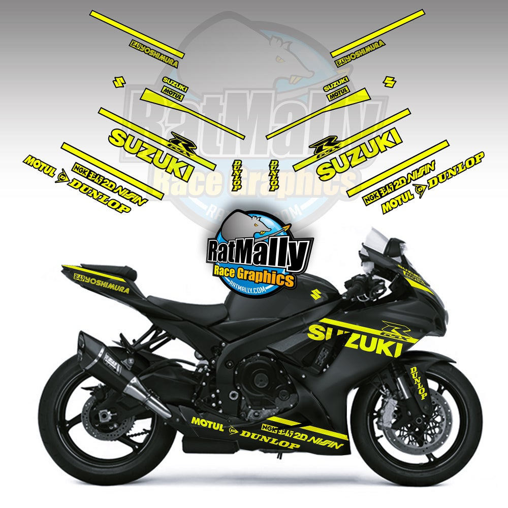 Image of Winter Test Graphics pack - To fit Suzuki
