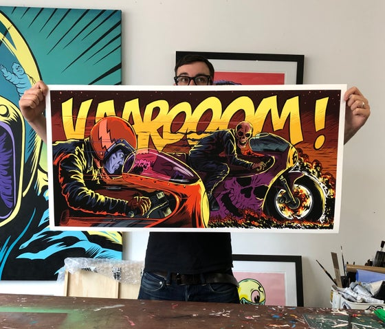 Image of VAROOOM! Print