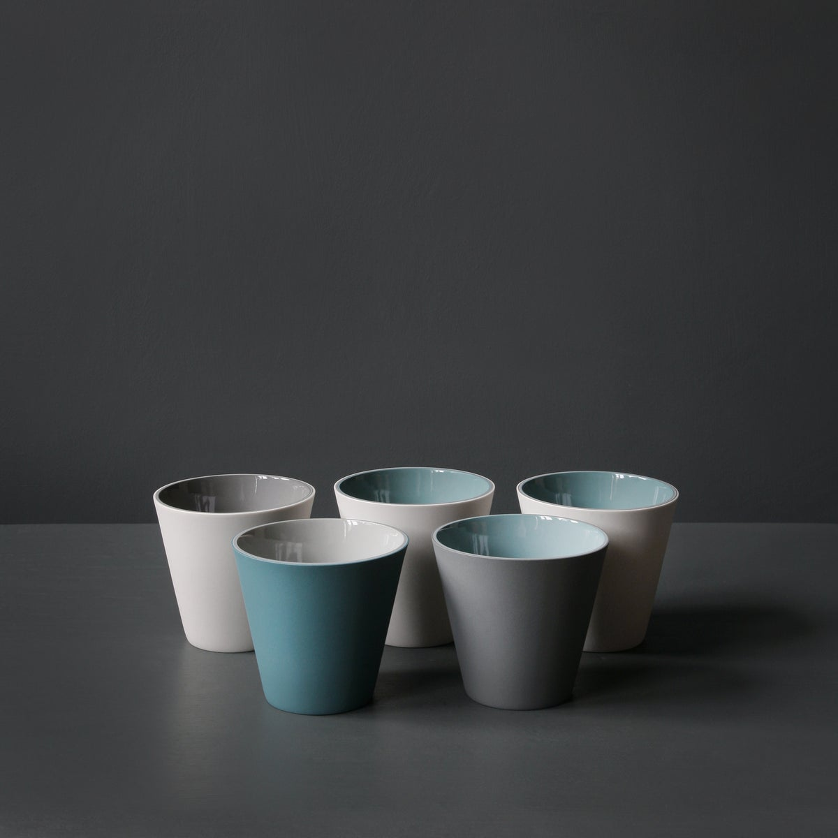 Image of Tapered Cups by Jill Shaddock.