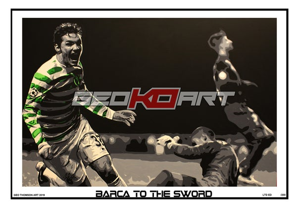 Image of TONY WATT - CELTIC V BARCELONA