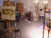 Image of Life Drawing with mixed media - Saturday Workshop, 26th October